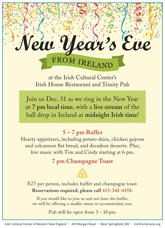 Celebrate New Year\'s Eve from Ireland | Irish Cultural Center of ...