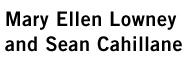 Mary Ellen Lowney and Sean Cahillane