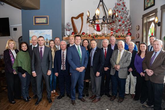 Irish Parliament Visit to the ICC