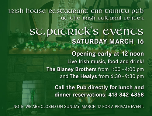 St. Patrick's Events