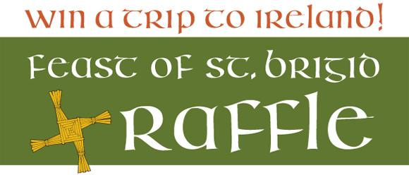 Feast of St. Brigid Raffle