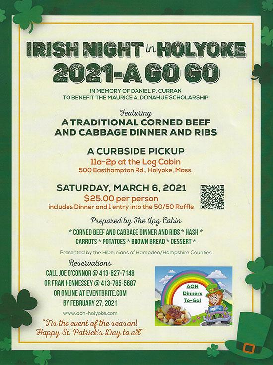 AOH Irish Dinner